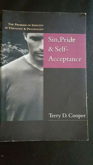SIN,PRIDE & SELF ACCEPTANCE BY TERRY D. COOPER for Sale in Compton, CA