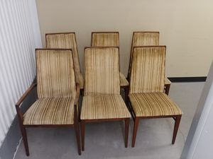 6 Dillingham Chairs - Restorer/Refinisher's Special for Sale in Seattle, WA