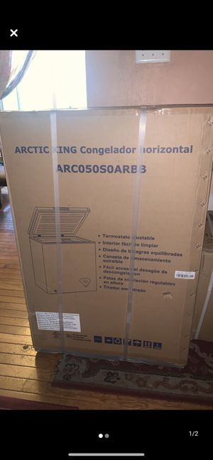 Arctic King 5 cu ft Chest Freezer - Black - Brand New for Sale in Hyattsville, MD