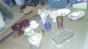 Varios crystal and china antiques for Sale in Seattle, WA