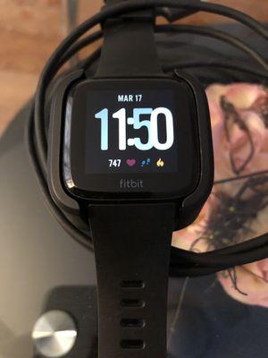 Fitbit Versa Smart Fitness Watch for Sale in Philadelphia, PA