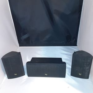 3 Infinity Surround Sound Speakers for Sale in Hillsboro, OR