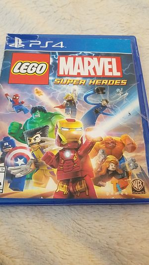 PS4 Marvel Super Heroes game disc (the case has seen better days) for Sale in Wauconda, IL