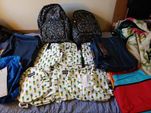 17 backpacks for kids, teens & adults for Sale in Long Beach, CA