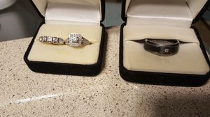 His and hers wedding rings for Sale in Nashville, TN