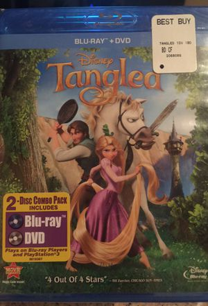 Disney Tangled Movie on Blu-Ray for Sale in City of Industry, CA