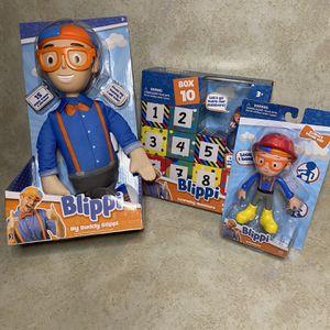 Blippi Toys Gift Set Boys Girls Unisex Education for Sale in Woodbridge Township, NJ