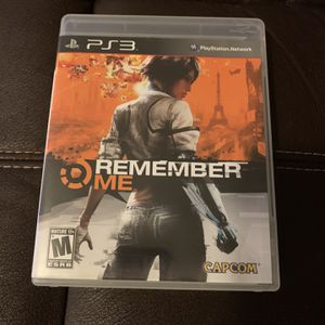 PS3 Remember Me for Sale in Anderson, SC
