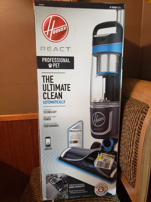 Hoover React Professional Pet Vacuum New for Sale in San Diego, CA