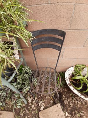 2 rod iron chairs for Sale in Norco, CA