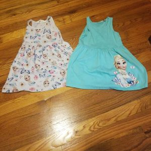 Two Frozen Elsa Dresses H&M Size 2-4 for Sale in Chicago, IL