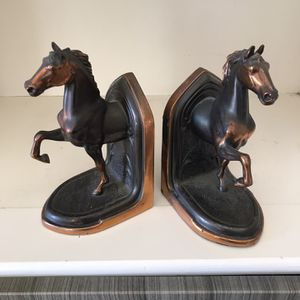 Antique Vintage Horse Bookends for Sale in San Diego, CA