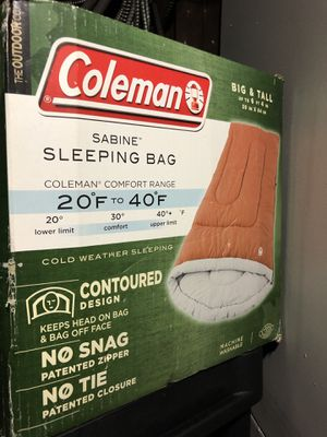 Coleman cold weather sleeping bag for Sale in Queens, NY