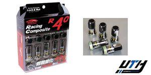 Kics R40 12x1.5 Wheel Lug Nut 16+4pc w/Lock Glorious Black for Sale in El Monte, CA