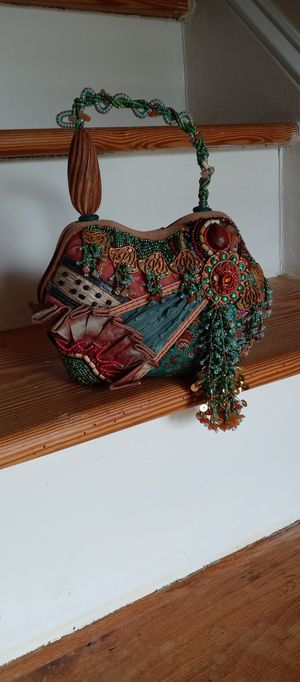 Mary Francis Handmade Bead Purse for Sale in Garner, NC