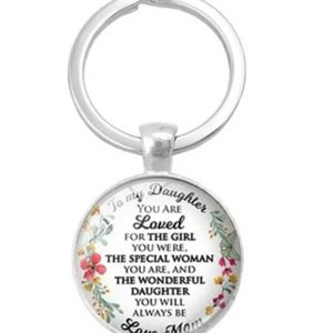 To My Daughter Love Mom Keychain for Sale in Fresno, CA