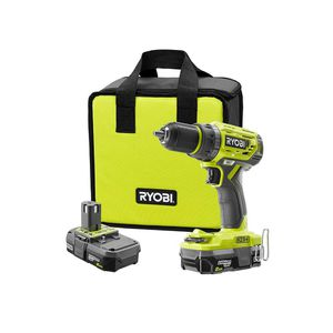 Ryobi drill driver 2 batteries charger and bag for Sale in Aberdeen, WA