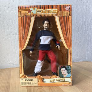 "Living Toyz Nsync Joey Fatone Collectable Marionette 10"" Figure Doll Toy for Sale in Elizabethtown, PA"