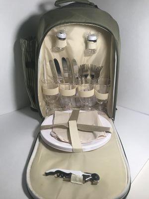 Picnic Backpack for 4 for Sale in Philadelphia, PA