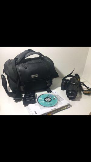 Nikon D3100 Digital SLR Camera 18-55mm Lens, Bag, 16gb memory, Batteries & Charger, cd and manual for Sale in Los Angeles, CA