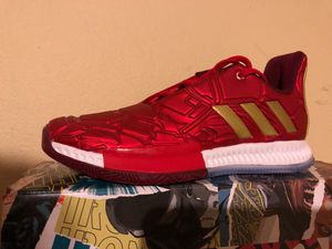 Adidas harden vol.3 marvel iron man for Sale in Mukilteo, WA