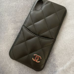 iPhone X Case Quilted Leathe With CC Slot for Sale in Irvine, CA