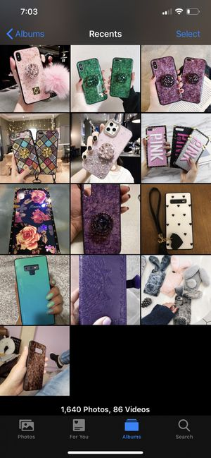 Variety of different phone cases brand new in package for Sale in Vancouver, WA