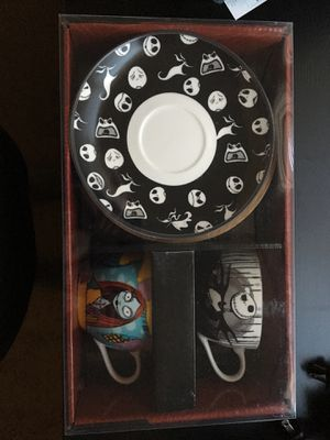 The nightmare before Christmas tea cup set for Sale in Gresham, OR