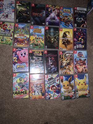 Nintendo switch games ( see description) for Sale in Apopka, FL