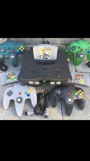 Nintendo 64 bundle for Sale in Houston, TX