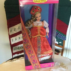 Russian Barbie Doll 🇷🇺 International dolls collection 🌏👱🏻‍♀️ for Sale in Alexandria, VA
