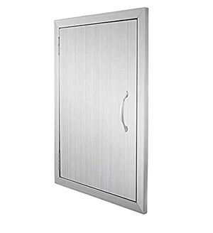 BRAND NEW BBQ Access Door Double Wall Construction 17W x 24H inch BBQ Island Outdoor Kitchen Access Doors 304 Grade Brushed Stainless Steel Heavy Duty for Sale in Irwindale, CA