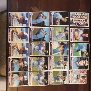Topps Brewers 1979 Baseball Cards for Sale in St. Charles, IL