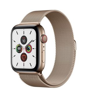 Apple Watch Series 5 cellular gold stainless steel for Sale in Longwood, FL