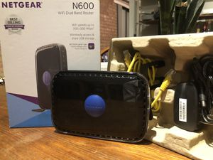 NETGEAR N600 WiFi Dual Band Router for Sale in Chicago, IL