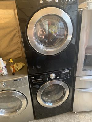LG washer and dryer Flont load with 3 months warranty free Delivery installation in Oakland Area for Sale in Oakland, CA