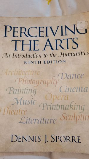 Perceiving the Arts 9th edition for Sale in Lake Charles, LA