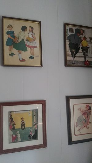 Norman Rockwell painting for Sale in Coffeyville, KS