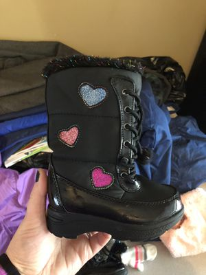 Toddler Girl Snow boots for Sale in NJ, US
