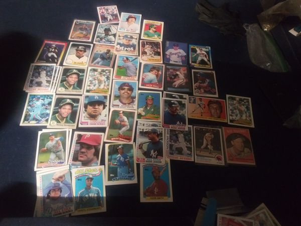 82 to 91 badass baseball cards. Top players check outcal ripken un middle cards in sheaves excellent condition