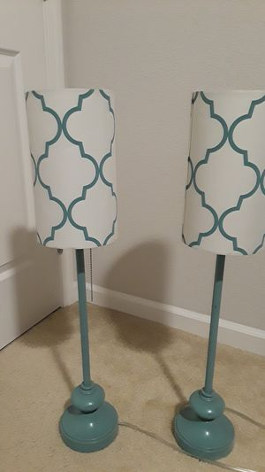 Table top lamps for Sale in Stockton, CA