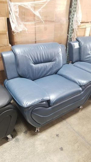 Blue PU Chairs. New in box for Sale in Chino, CA