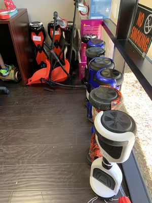 $49 Hoverboards all working condition with led lights perfect and Bluetooth for Sale in Murrieta, CA