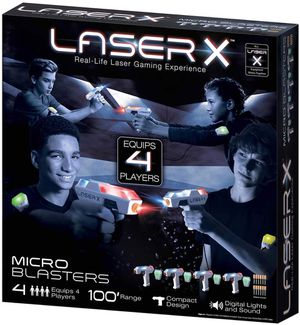 Laser X Real-Life Tag Gaming Experience 4 player for Sale in Puyallup, WA