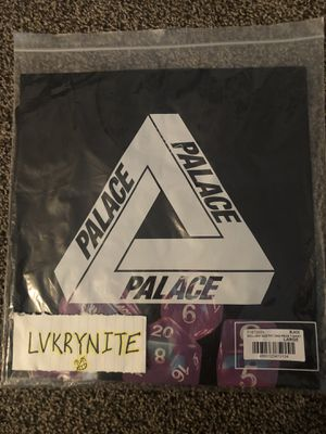 Palace Roll Das Dice Pay Das Price T-Shirt Black for Sale in Las Vegas, NV