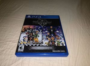 Kingdom Hearts HD 1.5 + 2.5 Remix (Sony PlayStation 4, 2017) for Sale in Des Moines, WA
