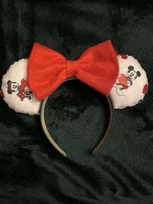 Mickey and Minnie Disney Ears for Sale in Los Angeles, CA