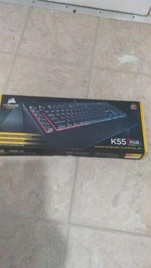 Crossair k55 6 macro keys Keyboard for Sale in Everett, MA