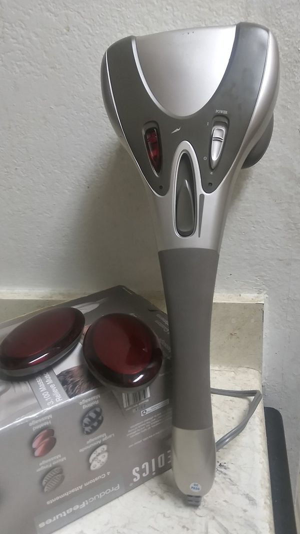 HOMEDICS BODY MASSAGER WITH HEAT. IN NEW CONDITION. GREAT FOR A TOTAL BODY MASSAGE
