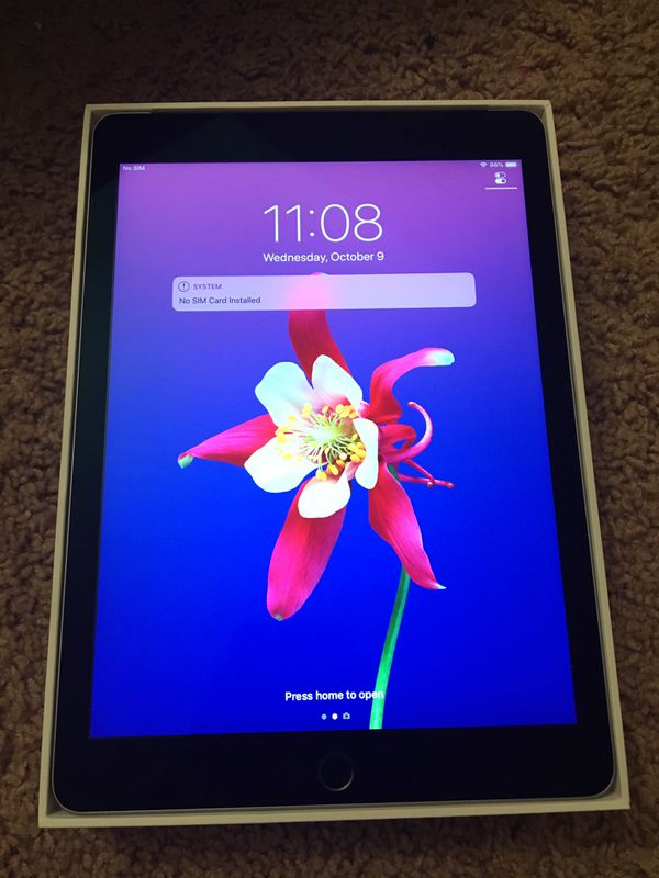 iPad Air 2 WiFi and cellular new